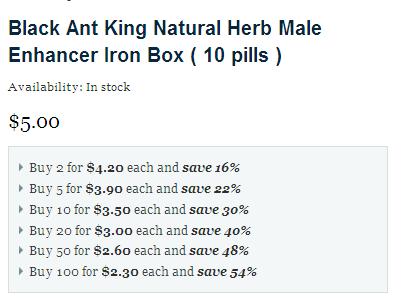 Buy Black Ant King Pills Online