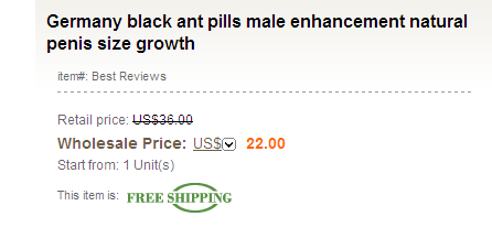 Buy German Black Ant Male Enhancement Pills Online