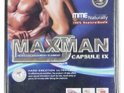 Maxman IX review