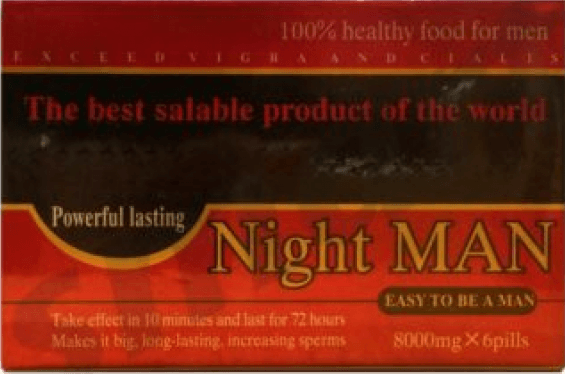 Night Man Powerful Lasting