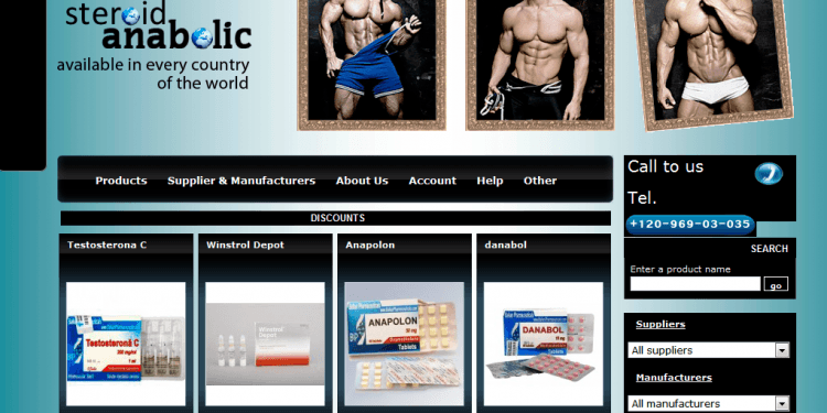 Anabolics-steroid