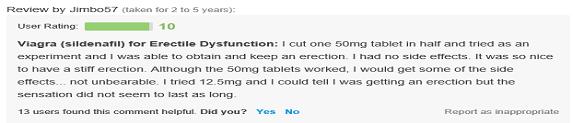 Generic Viagra Reviews