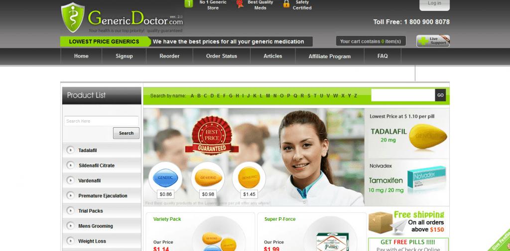 Genericdoctor.com Reviews