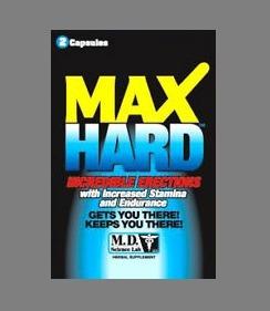 Max Hard Pills