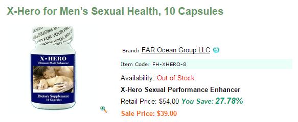 X-Hero Pills Reviews