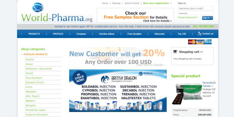 World-pharma.org Reviews