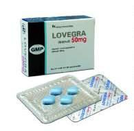 Lovegra 50mg Sildenafil Tablets