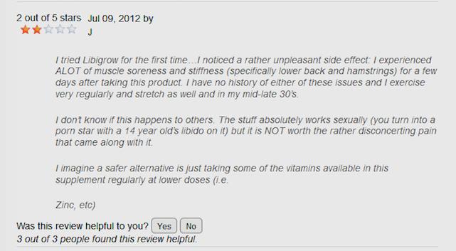 Libigrow Pills reviews