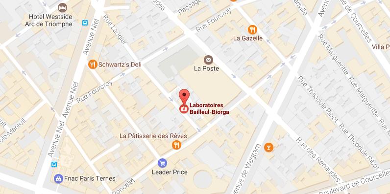 Bailleul Laboratoires Location