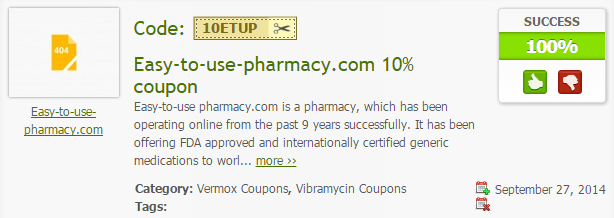 Easy-to-use-pharmacy.com Coupon Code