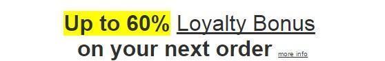 Half-price-pharmacy.com Loyalty Bonus Offer